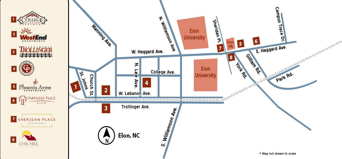 Apartments | Elon Student Housing